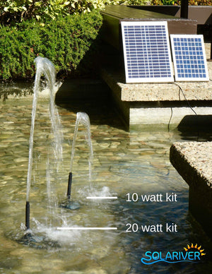 Solariver Solar Water Pump Kit