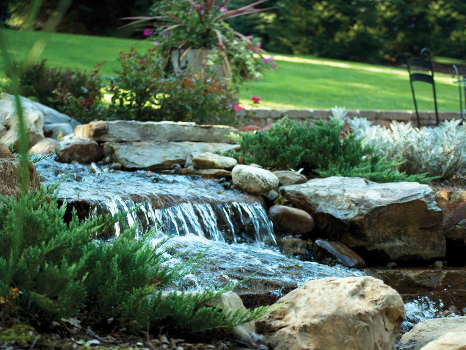 Waterscapes International Pond Filter & Waterfall Spillway