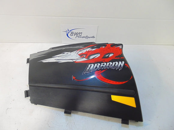2008-2010 Polaris DRAGON RMK Left Side Panel
