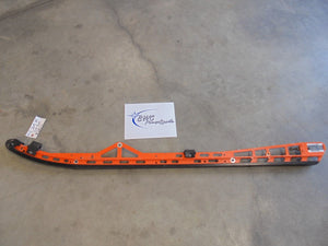 "2015 Polaris PRO RMK Left Rail 155"" (Orange)"