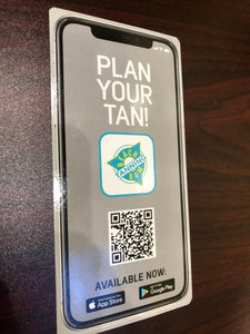 Plan Your Tan App Flyers 3X6 250/pk