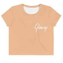 Load image into Gallery viewer, Glow Up Crop T-Shirt