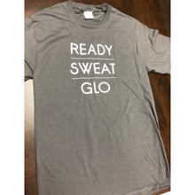 Load image into Gallery viewer, Men's Ready, Sweat, Glo Gray SS Tee