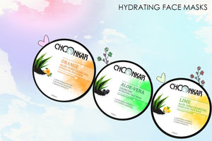 The New Range of Choonkar Hydrating Face Masks