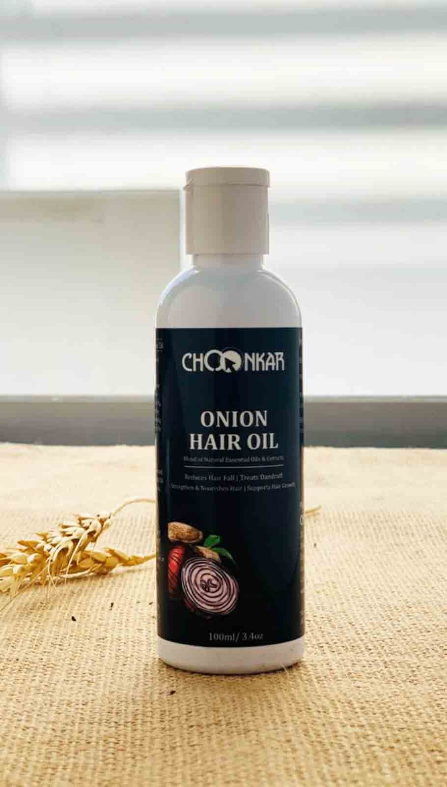 Choonkar Onion Hair Oil