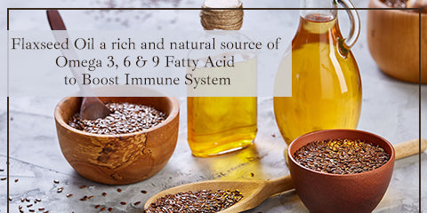 Flaxseed Oil To Boost Immune System