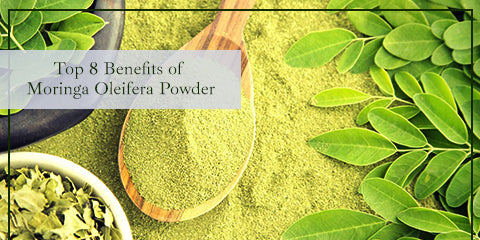 Top 8 Benefits of Moringa Oleifera Powder