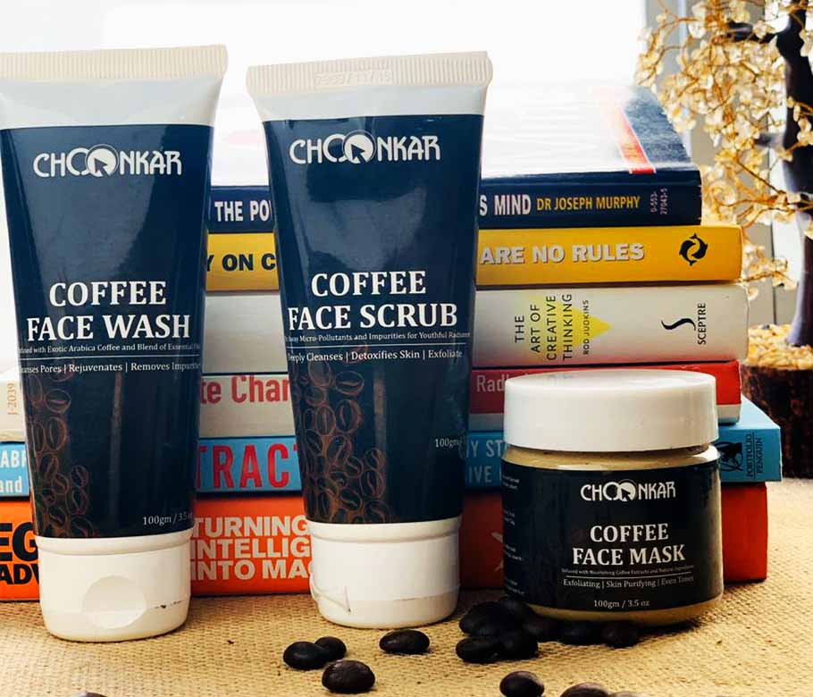 Choonkar Face Products with Coffee Flavour