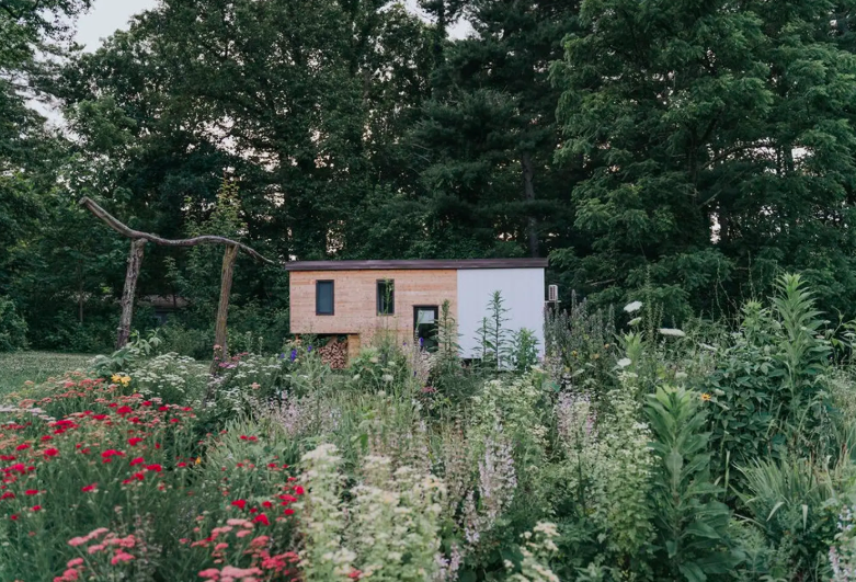 Elegant Tiny House on Organic Farm