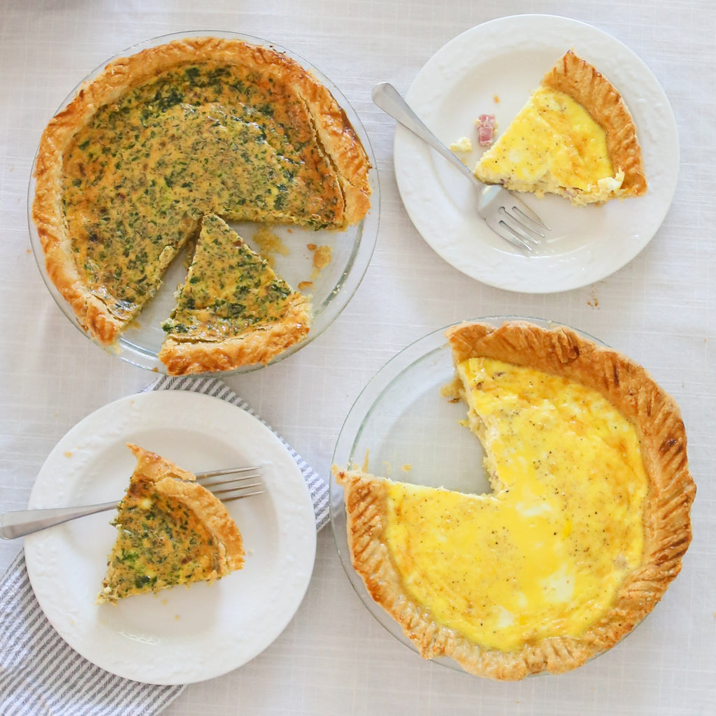 NC Made Cookbook Club: Double the Quiche