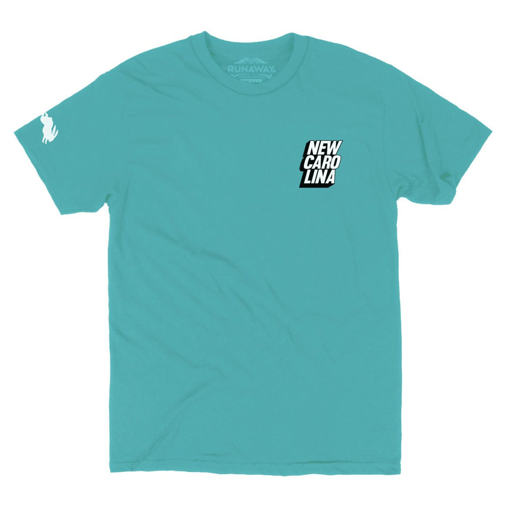 Runaway New Carolina Tee in Mint