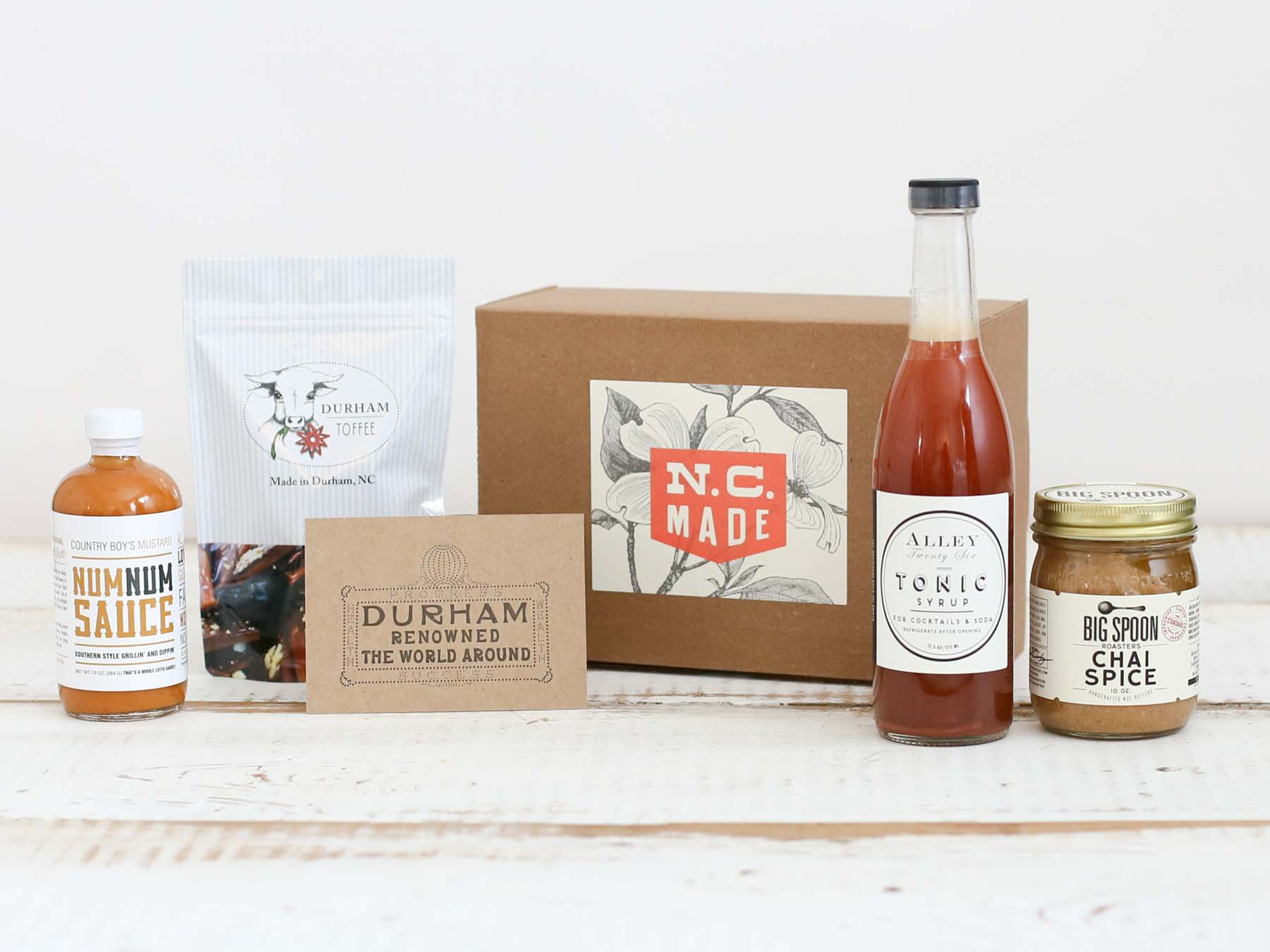 Bull City Gift Box Durham North Carolina Food Gift
