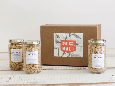North Carolina Peanuts Box