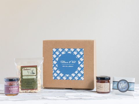 Wedding Favor & Welcome Gift Box | Modern