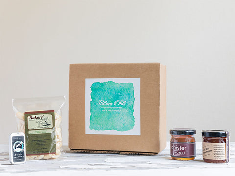 Wedding Favor & Welcome Gift Box | Watercolor