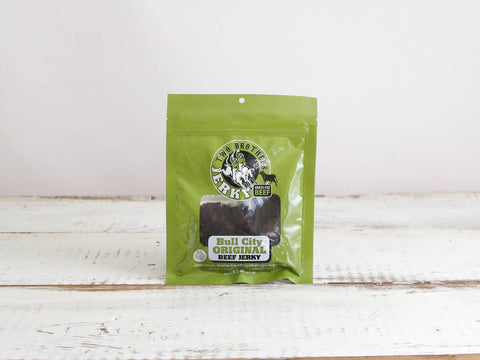 Two Brothers Jerky Bull City Original Beef Jerky