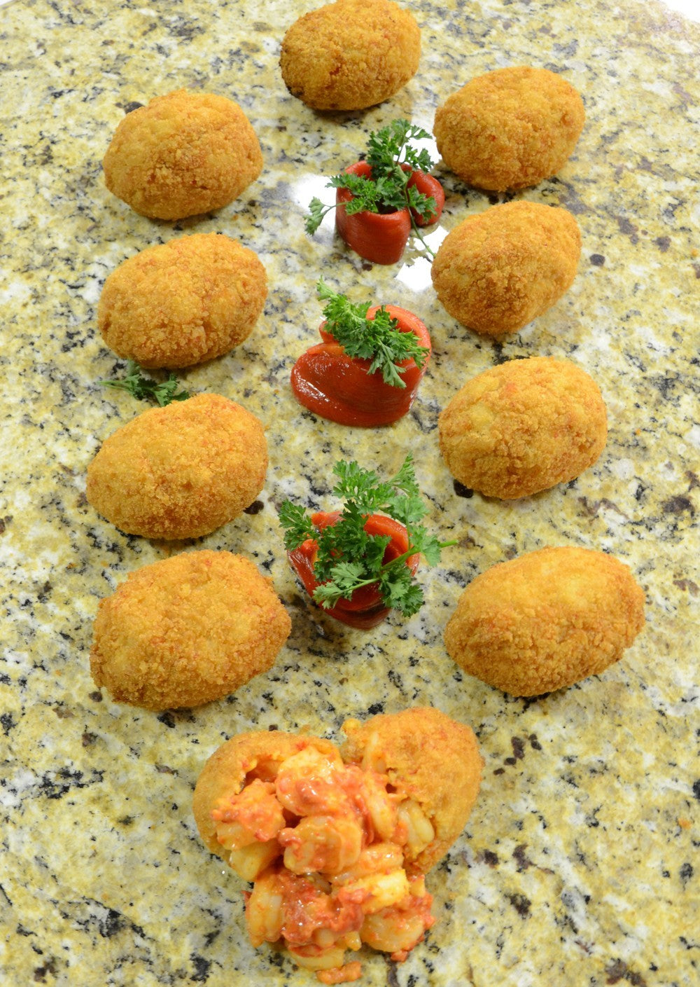 Spicy Shrimp Puffs