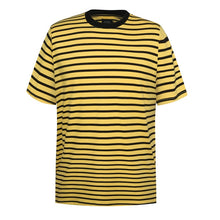 Load image into Gallery viewer, yellow black striped t-shirt WP042