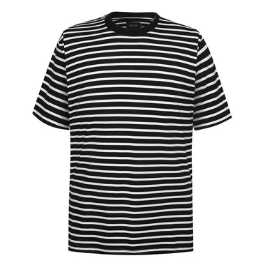 black white striped t-shirt WP041