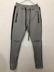 Dark Grey With Black Track Pants WP120
