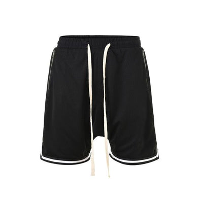 black Basketball Shorts  WP047