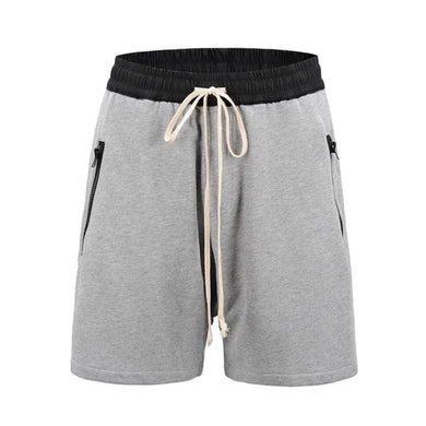Drop Crotch Grey Shorts  WP101