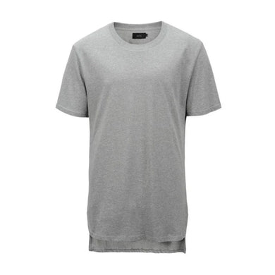 grey back long t-shirt WP046