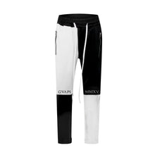 Load image into Gallery viewer, white X black fusion track pants WP007