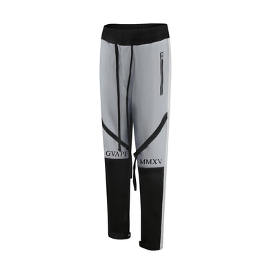 grey ribbons black fusion track pants WP010