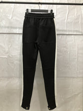 Load image into Gallery viewer, black and black fusion track pants WP006