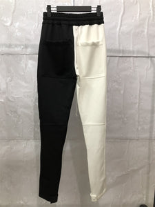 All Black All White Fusion Track Pants WP119
