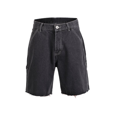 BLACK DEIM SHORTS- WP118