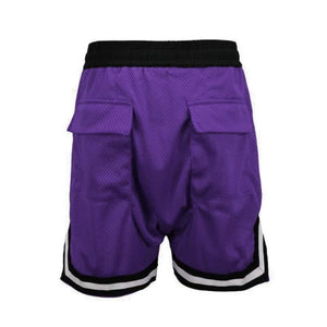 Purple Basketball Shorts  WP053