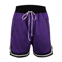 Load image into Gallery viewer, Purple Basketball Shorts  WP053