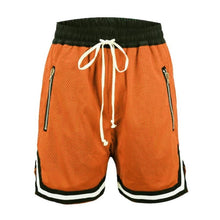 Load image into Gallery viewer, Orange Basketball Shorts  WP055