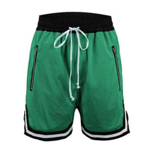 Load image into Gallery viewer, Light green Basketball Shorts  WP056