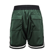 Load image into Gallery viewer, green Basketball Shorts  WP049