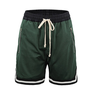 green Basketball Shorts  WP049