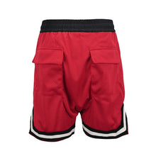 Load image into Gallery viewer, red Basketball Shorts  WP048