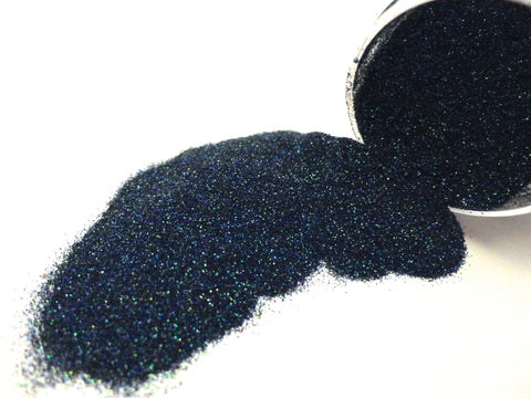 104 Holographic Dark Blue/Green MicroFine Glitter