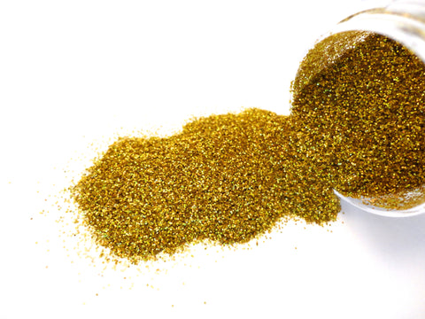 202 Holographic Gold UltraFine Glitter