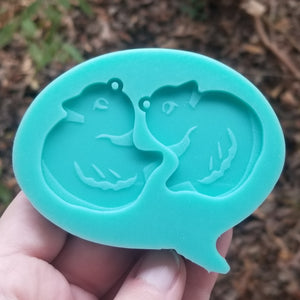 Sweetarts Chick Earring Mold