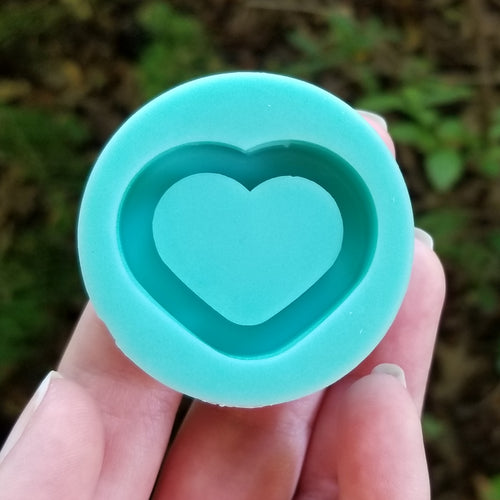 Heart Shaker Grippie Mold