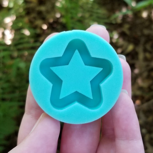 Pointed Star Shaker Grippie Mold