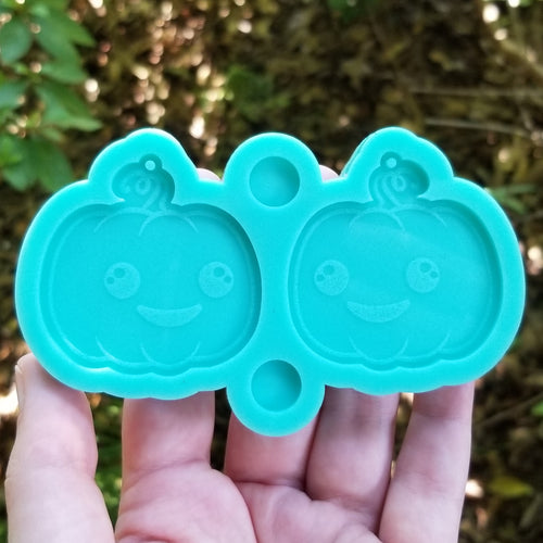 Cute Pumpkin Earring Mold