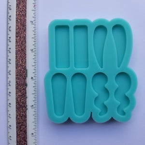 Statement Stud Earring Palette Mold
