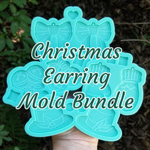 Load image into Gallery viewer, Christmas Earring Mold Bundle
