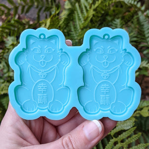 New Lucky Cat Earring Molds