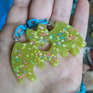 Batty Resin Necklace
