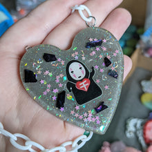 Load image into Gallery viewer, No Face Resin Necklace